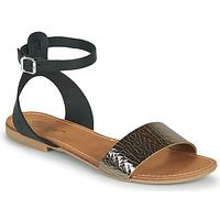 Schuhe Damen Sandalen / Sandaletten Betty London GIMY Schwarz
