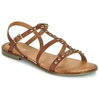 Schuhe Damen Sandalen / Sandaletten Betty London OVADE Camel