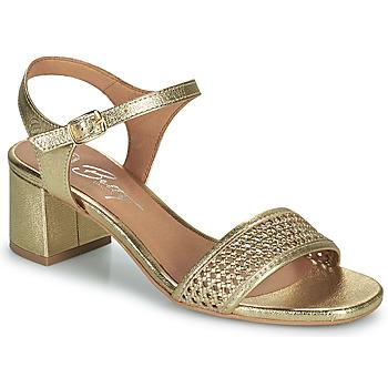 Schuhe Damen Sandalen / Sandaletten Betty London OUPETTE Gold