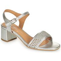 Schuhe Damen Sandalen / Sandaletten Betty London OUPETTE Silbern