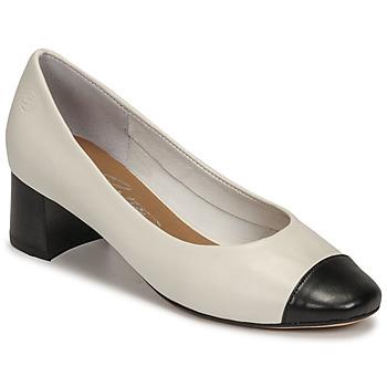 Schuhe Damen Pumps Betty London OMINA Weiss / Schwarz