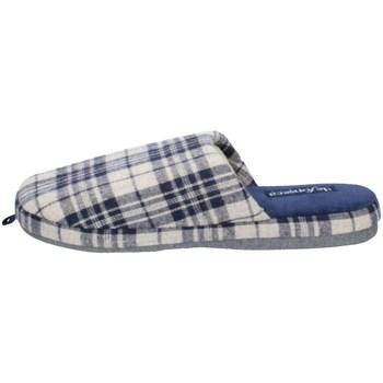 Schuhe Herren Hausschuhe De Fonseca ROMA TOP I M624 GRAU