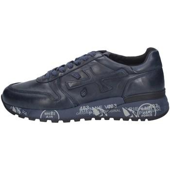 Schuhe Herren Sneaker Low Premiata MIC1807 BLAU