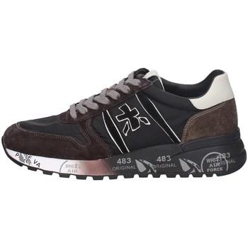 Schuhe Herren Sneaker Low Premiata LAN04951 DUNKELGRAU