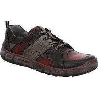 Schuhe Herren Sneaker Low Kacper Schnuerschuhe 1-6840 rot