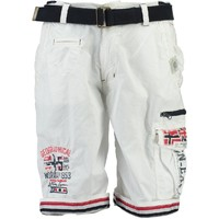 Kleidung Jungen Shorts / Bermudas Geographical Norway PACOME Weiss