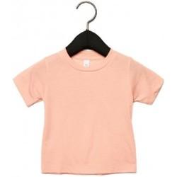 Kleidung Kinder T-Shirts Canvas CA3413T Pfirsich Triblend