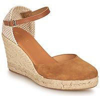 Schuhe Damen Sandalen / Sandaletten Minelli RAYANA Braun / Beige