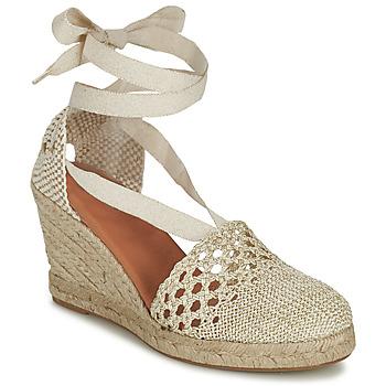 Schuhe Damen Sandalen / Sandaletten Minelli HINAU Naturfarben