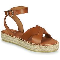 Schuhe Damen Sandalen / Sandaletten Minelli TRONUIT Braun