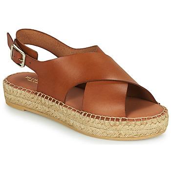 Schuhe Damen Sandalen / Sandaletten Minelli MOULTI Braun