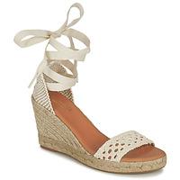 Schuhe Damen Sandalen / Sandaletten Minelli SHELLYE Naturfarben