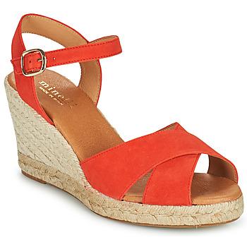Schuhe Damen Sandalen / Sandaletten Minelli OMELLA Rot