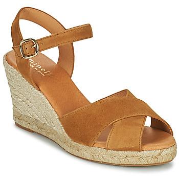 Schuhe Damen Sandalen / Sandaletten Minelli OMELLA Braun
