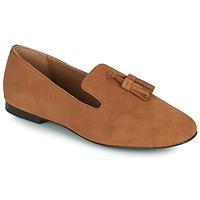 Schuhe Damen Slipper Minelli VELICRI Braun