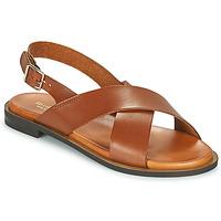 Schuhe Damen Sandalen / Sandaletten Minelli DONA Braun