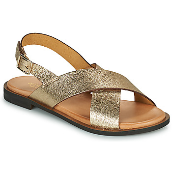 Schuhe Damen Sandalen / Sandaletten Minelli DONA Gold