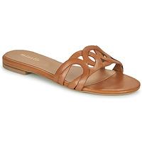 Schuhe Damen Pantoffel Minelli NANCIA Braun