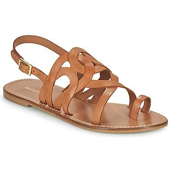 Schuhe Damen Sandalen / Sandaletten Minelli NOUNNA Braun