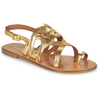 Schuhe Damen Sandalen / Sandaletten Minelli NOUNNA Gold