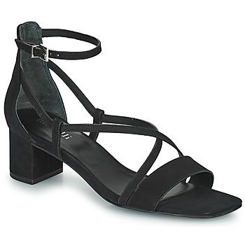 Schuhe Damen Sandalen / Sandaletten Minelli HENRIETA Schwarz