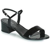 Schuhe Damen Sandalen / Sandaletten Minelli HENRIA Schwarz