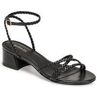 Schuhe Damen Sandalen / Sandaletten Minelli HARIETTE Schwarz