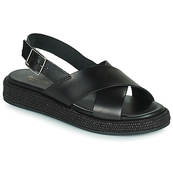 Schuhe Damen Sandalen / Sandaletten Minelli HADDIA Schwarz