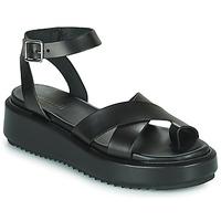 Schuhe Damen Sandalen / Sandaletten Minelli HESSYA Schwarz