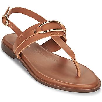 Schuhe Damen Sandalen / Sandaletten Minelli LIZA Braun
