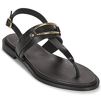 Schuhe Damen Sandalen / Sandaletten Minelli LIZA Schwarz