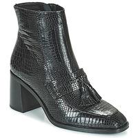 Schuhe Damen Low Boots Minelli ZYA Schwarz