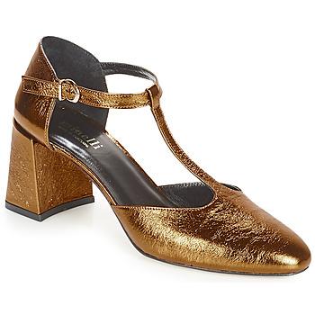 Schuhe Damen Pumps Minelli GAELANE Bronze