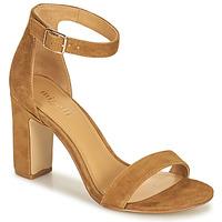 Schuhe Damen Sandalen / Sandaletten Minelli BEINTA Braun