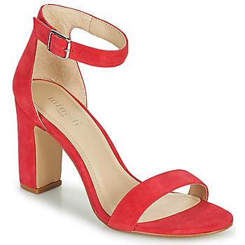 Schuhe Damen Sandalen / Sandaletten Minelli BEINTA Himbeer