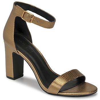 Schuhe Damen Sandalen / Sandaletten Minelli CHELYE Bronze