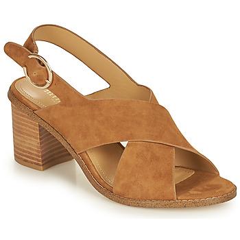 Schuhe Damen Sandalen / Sandaletten Minelli CASIMIERA Braun