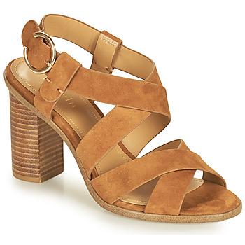 Schuhe Damen Sandalen / Sandaletten Minelli CLAVIA Braun