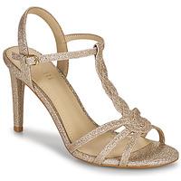 Schuhe Damen Sandalen / Sandaletten Minelli CHADA Gold