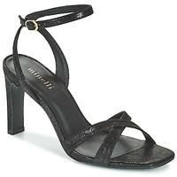 Schuhe Damen Sandalen / Sandaletten Minelli THIPHANNIE Schwarz