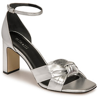 Schuhe Damen Sandalen / Sandaletten Minelli TREPHINNE Silbern