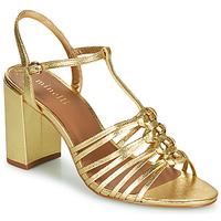 Schuhe Damen Sandalen / Sandaletten Minelli THERENA Gold