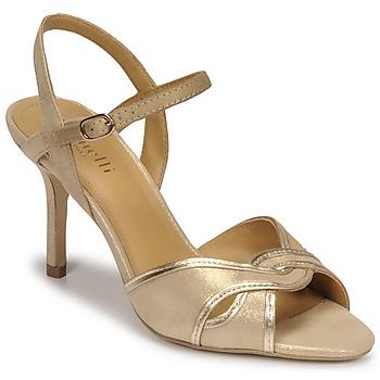 Schuhe Damen Sandalen / Sandaletten Minelli PHILOMENE Gold