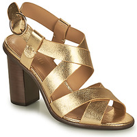 Schuhe Damen Sandalen / Sandaletten Minelli THIYA Gold
