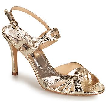 Schuhe Damen Sandalen / Sandaletten Minelli TULLYE Gold