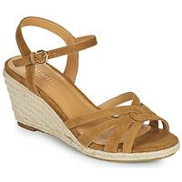 Schuhe Damen Sandalen / Sandaletten Minelli TERENSSE Braun