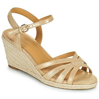 Schuhe Damen Sandalen / Sandaletten Minelli TERENSSE Beige