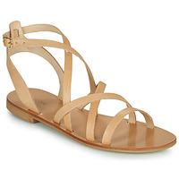 Schuhe Damen Sandalen / Sandaletten Minelli HOULLY Beige