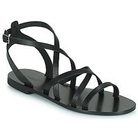 Schuhe Damen Sandalen / Sandaletten Minelli HOULLY Schwarz