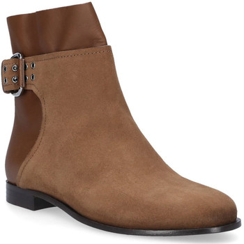 Schuhe Damen Boots Jimmy Choo MAJOR FLAT Marrone chiaro